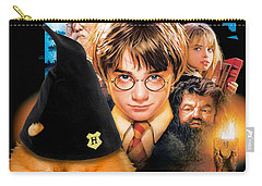 Pomeranian Art Canvas Print - Harry Potter Movie Poster Carry-all Pouch