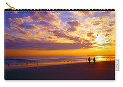 Carry-all Pouch featuring the photograph Ponce Inlet Fl Sunrise  by Tom Jelen