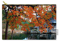 Fall At Lost Maples State Natural Area Carry-all Pouch