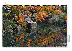 Pond In Autumn Carry-all Pouch