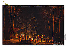 Ponderosa Christmas '14 Carry-all Pouch