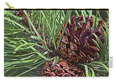 Ponderosa Pine Cones Carry-all Pouch by Sharon Talson