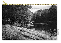 Carry-all Pouch featuring the photograph Pondside by Mark Myhaver