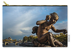 Pont Alexandre IIi Carry-all Pouch by Glenn DiPaola