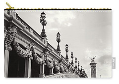 Pont Alexandre IIi Carry-all Pouch by Melanie Alexandra Price