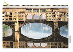 Ponte Vecchio A Firenze Carry-all Pouch
