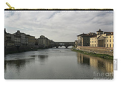 Carry-all Pouch featuring the photograph Ponte Vecchio by Belinda Greb
