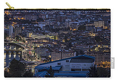 Carry-all Pouch featuring the photograph Pontevedra Panorama From A Caeira by Pablo Avanzini