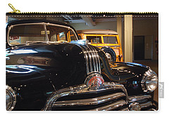 Carry-all Pouch featuring the photograph Pontiac Streamliner 1947 by John Schneider