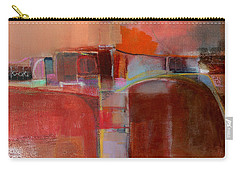Carry-all Pouch featuring the painting Pont Des Arts by Michelle Abrams