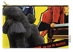 Poodle  Art - Love Is My Profession Carry-all Pouch