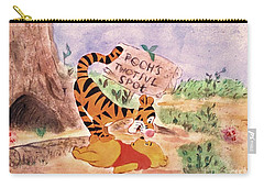 Pooh Bear Got Bounced Carry-all Pouch