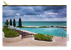 Pool At Rosewood Mayakoba Carry-all Pouch by Teresa Zieba