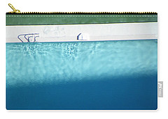 Poolside Upside Carry-all Pouch by Brian Boyle