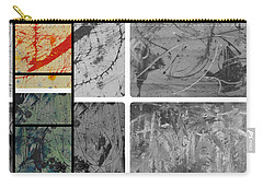 Carry-all Pouch featuring the photograph Poor And Rich by Sir Josef - Social Critic - ART