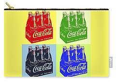 Carry-all Pouch featuring the photograph Pop Coke by The Art of Alice Terrill