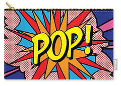 Pop Exclamation Carry-all Pouch