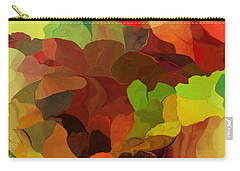 Carry-all Pouch featuring the digital art Popago by David Lane