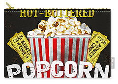 Popcorn Please Carry-all Pouch by Jean Plout