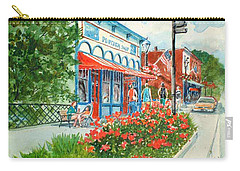 Popcorn Shop In Summer/chagrin Falls Carry-all Pouch