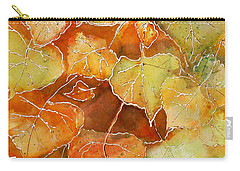 Poplar Leaves Carry-all Pouch