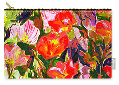 Poppies Carry-all Pouch by Beth Saffer