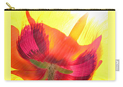 Poppies Gone Wild 2 Carry-all Pouch
