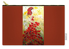 Poppies Lady Carry-all Pouch
