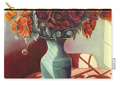 Poppies Carry-all Pouch by Marlene Book