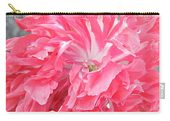 Popping Pink Carry-all Pouch by Brian Boyle