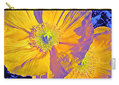 Poppy 14 Carry-all Pouch by Pamela Cooper