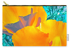 Carry-all Pouch featuring the photograph Poppy 4 by Pamela Cooper