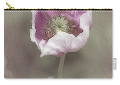 Carry-all Pouch featuring the photograph Poppy by Elaine Teague