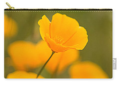 Carry-all Pouch featuring the photograph Poppy I by Ronda Kimbrow