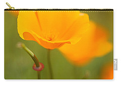 Carry-all Pouch featuring the photograph Poppy II by Ronda Kimbrow
