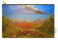 Poppy Morning Carry-all Pouch