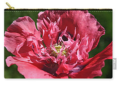 Poppy Pink Carry-all Pouch