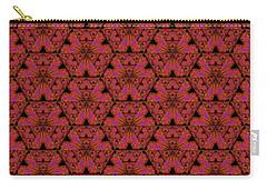 Poppy Sierpinski Triangle Fractal Carry-all Pouch