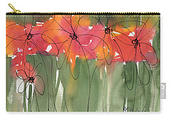 Poppy To Posy Carry-all Pouch