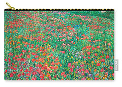 Poppy View Carry-all Pouch