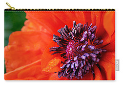 Poppy's Purple Passion Carry-all Pouch