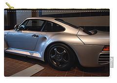 Carry-all Pouch featuring the photograph Porsche 1987 959 by John Schneider