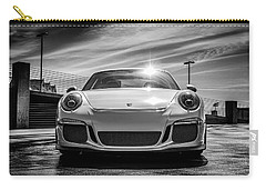Carry-all Pouch featuring the digital art Porsche 911 Gt3 by Douglas Pittman