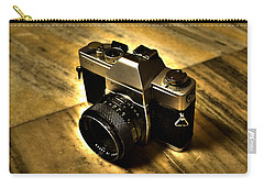 Carry-all Pouch featuring the photograph Porst Flex Slr by Salman Ravish