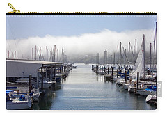 Carry-all Pouch featuring the photograph Port Kingston Marina by Greg Reed