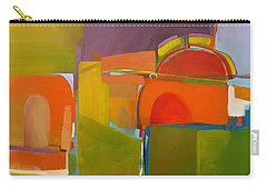 Carry-all Pouch featuring the painting Portal No. 2 by Michelle Abrams