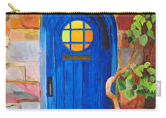 Carry-all Pouch featuring the painting Portal by Rodney Campbell