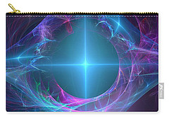 Carry-all Pouch featuring the digital art Portal To The Unknown by Svetlana Nikolova