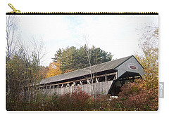 Porter Covered Bridge Carry-all Pouch by Catherine Gagne