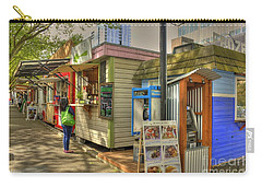 Portland Food Carts Carry-all Pouch by David Bearden